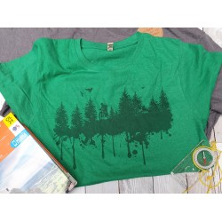Recycled Organic Forest Print T-shirt