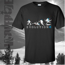 Evolution Skiing T-shirt