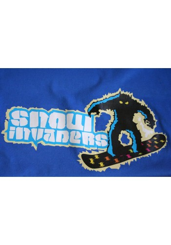 Snow Invaders - snowboarding t-shirt