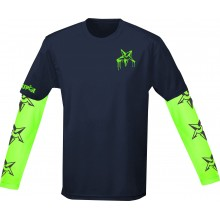 Long / short sleeve layering system sports top, mountain bike, mtb