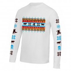 Snowboarding long sleeve base layer loose fit (or tight) alpine design