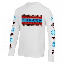 Skiing long sleeve base layer loose fit (or tight) alpine design