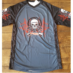Skull Bike - Long sleeve breathable wicking down hill race top