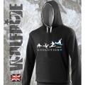 Evolution of Snowboarding hoodie