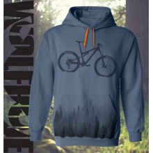 Mountain Bike hoodie design - sublimation printed