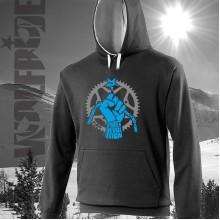 Viva La Revolution Bike hoodie