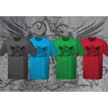 Live to ride short sleeve wicking top, mountain bike, light weight