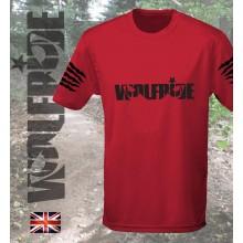 BLACK LOGO - short sleeve performance mountain bike shirt
