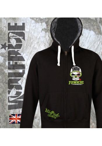 Snow Junkie Fur lined chunky hoodie